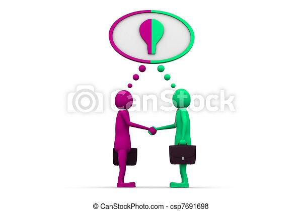Mutual cooperation - csp7691698