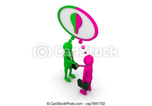 Mutual cooperation - csp7691702