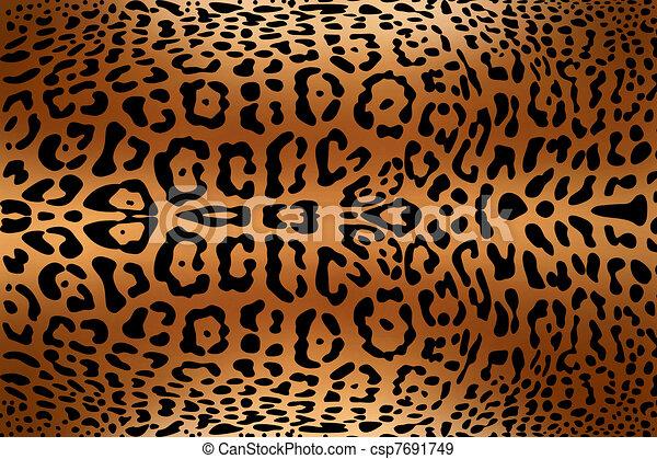 animal skin print - csp7691749