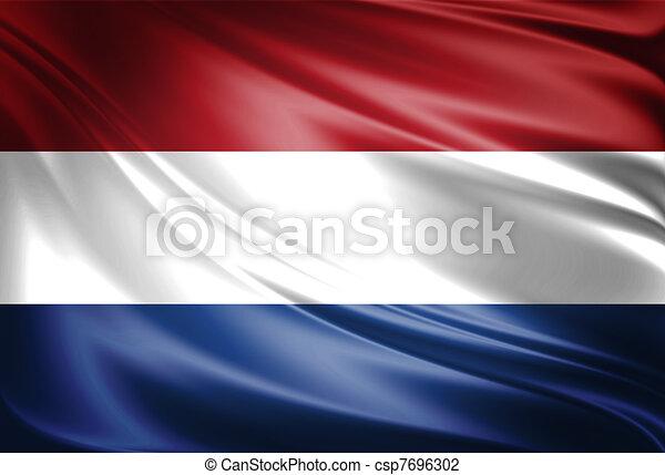 Flag of Netherland - csp7696302