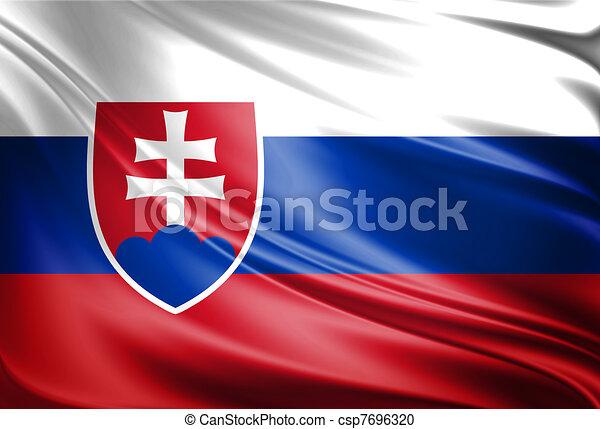 Slovakia Flag - csp7696320