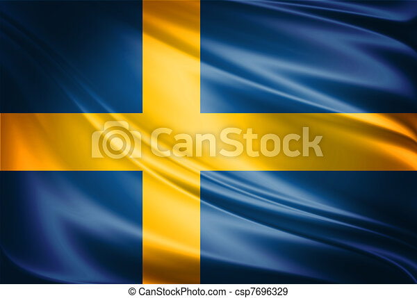 Sweden Flag - csp7696329