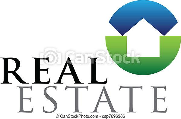 Real estate emblem - csp7696386