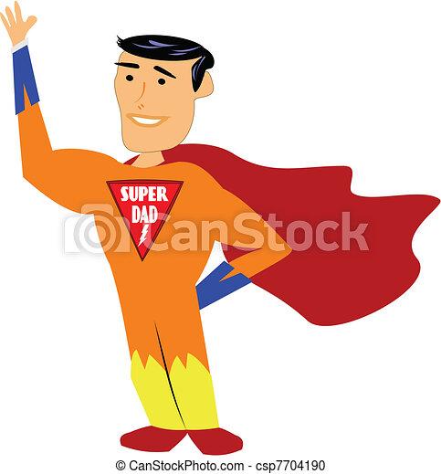 super dad - csp7704190