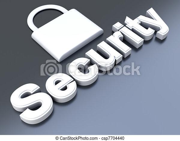 セキュリティー - csp7704440