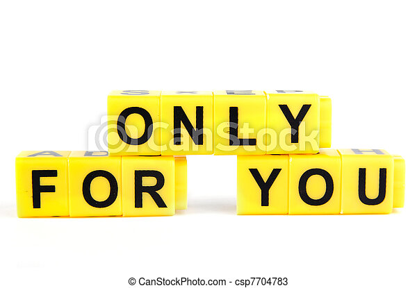Only for you - csp7704783