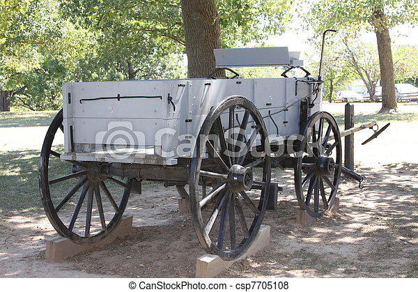 Horse Drawn Wagon Horse Drawn Wagon Horses Are