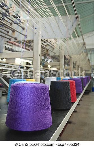 Textile Industry - csp7705334