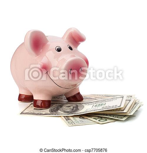Money accumulation concept - csp7705876