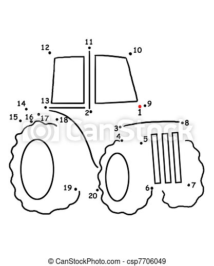 Jeu Points Tracteur 7706049