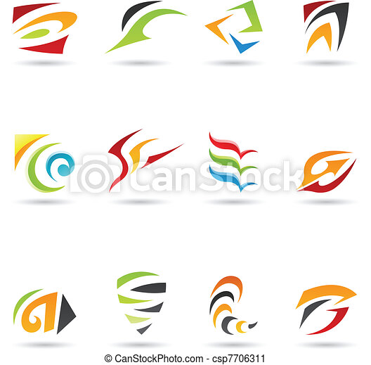Abstract Shapes 4 - csp7706311