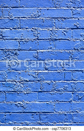 old brick walls of historic houses in typical structure - csp7706313