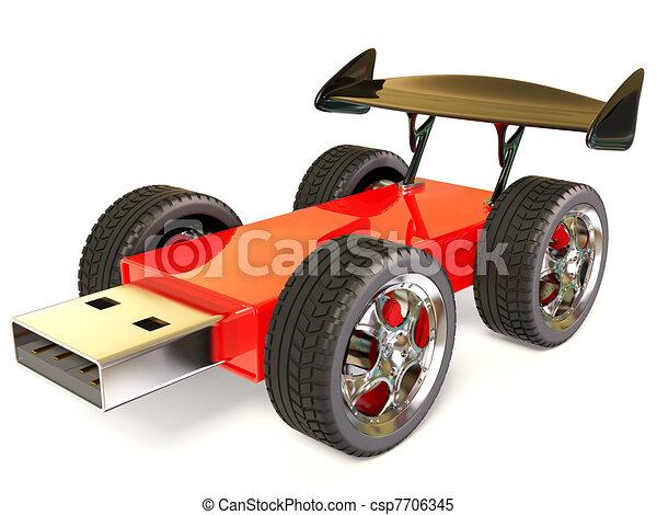 usb car - csp7706345