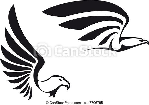 Black eagles - csp7706795