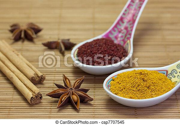 Asian flavour. - csp7707545