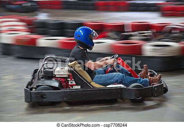 Indoor karting - csp7708244