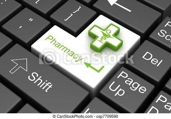 pharmacy enter key - csp7709590