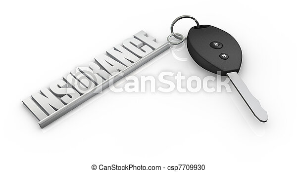 car insurance - csp7709930
