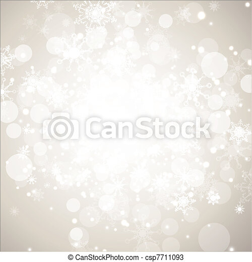 Winter holiday abstract background - csp7711093