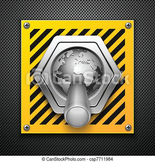 Switch. Vector illustration. Eps10  - csp7711984