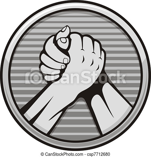 Arm wrestling icon - csp7712680