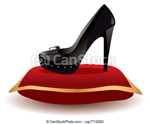 shoe on the pillow - csp7712920