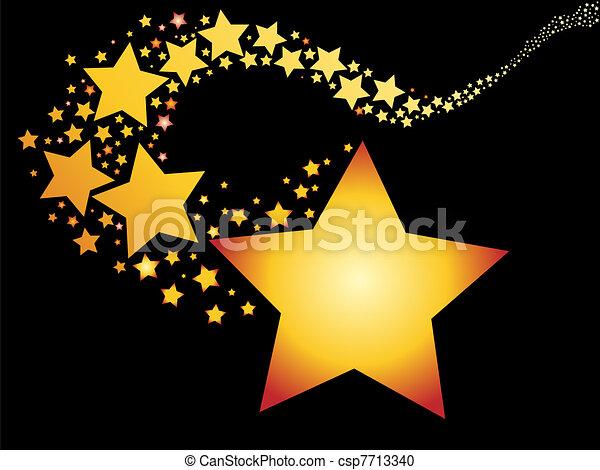 shooting star - csp7713340