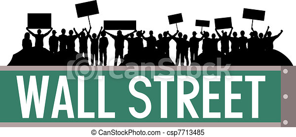 Wall street occupy - csp7713485