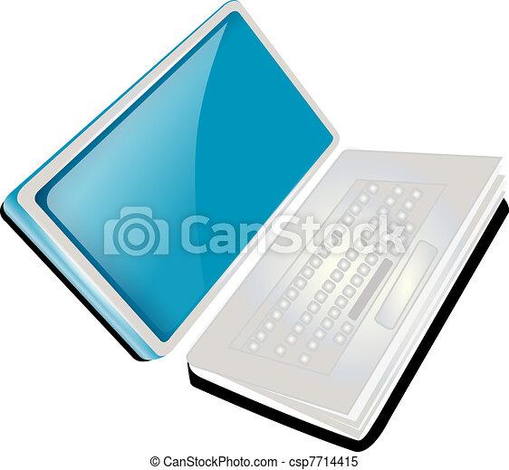 Laptop book  - csp7714415