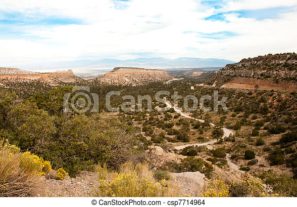 New Mexico Skyline - csp7714964