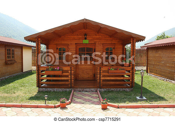 Camping recreation cabin
