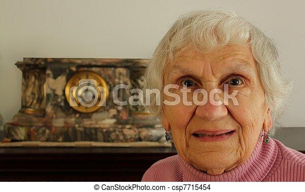 female senior citizen - csp7715454