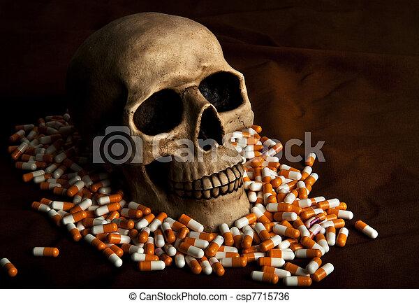 Dramatic sickness - csp7715736