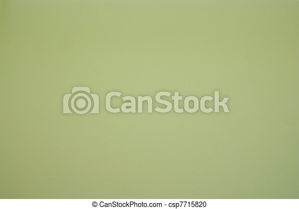 wall background with green color - csp7715820