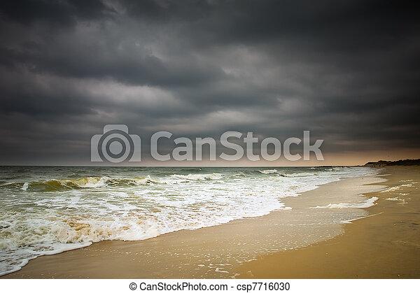 Stormy weather, Atlantic ocean
