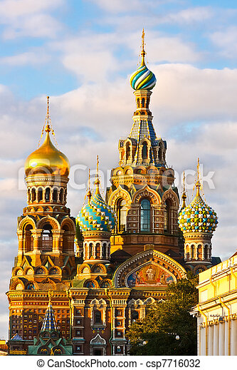 Church in St. Petersburg - csp7716032