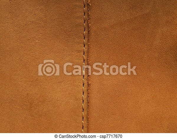 Leather texture hem - csp7717670