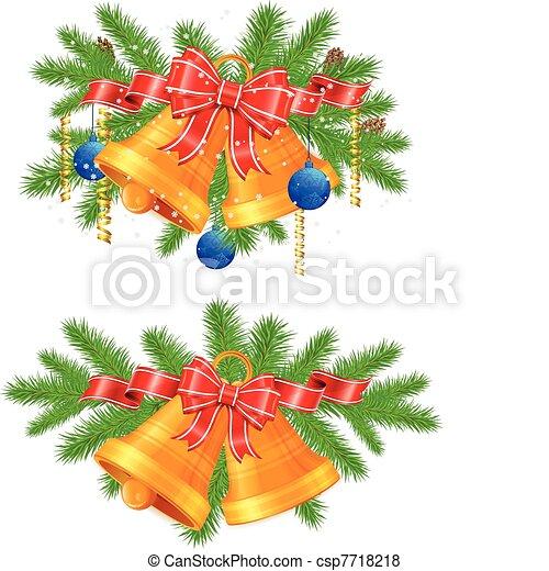 Christmas decoration  - csp7718218