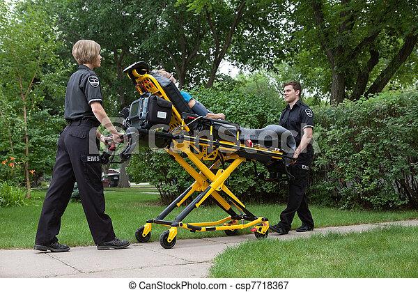 Emergency Medical Team - csp7718367