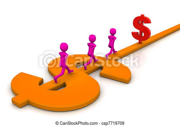 Road to prosperity - csp7719709