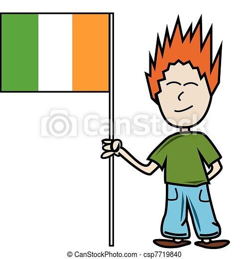 Irish flag - csp7719840
