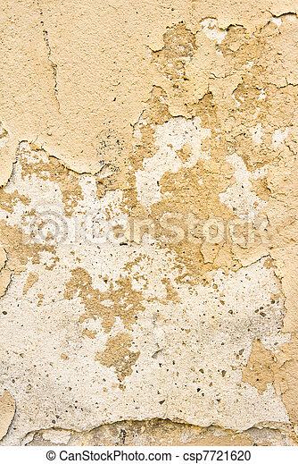 Brown grungy wall - csp7721620