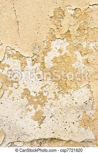 Brown grungy wall - csp7721620