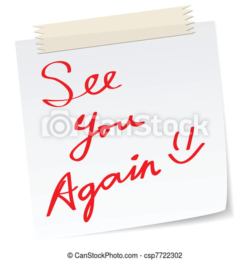 see you again message - csp7722302