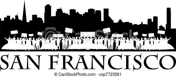 Occupy San Francisco - csp7723561