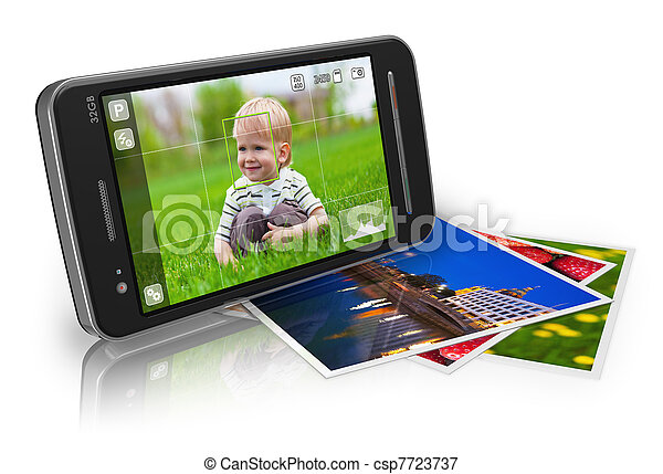 Mobile photography concept - csp7723737