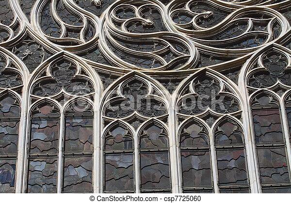 Duomo di Milano gothic cathedral church, Milan, Italy - csp7725060