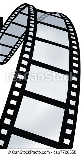 Swirl of Film Reel - csp7726558