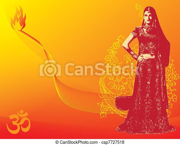 Diwali festival - csp7727518