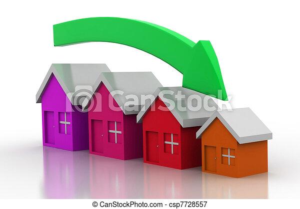 Stock de ilustraciones de bancos, Disminuir, tamaño ...
